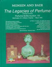 MONSEN SCENT PERFUME BOTTLE Baccarat Galle Czech Lalique Depinoix Catalog 7 1997