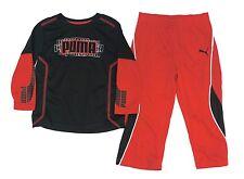 New! PUMA 2 Pc. Formstripe Slider Active Top & Pants Little Boys Toddler 2T-4T