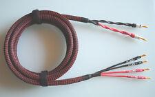 """Dynavox """"PERFECT SOUND"""" bi-wiring / Premium Center-Speakerkabel / Bananas"""