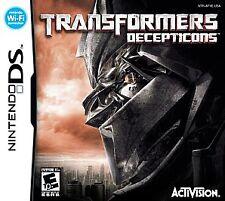 Transformers - Decepticons - Nintendo DS, Good Nintendo DS, Nintendo DS Video Ga