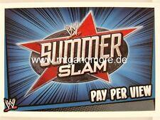 Slam Attax Rumble-Summer Slam-Pay Per View