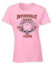 PSYCHOBILLY T-shirt femme rockabilly rock & Roll exceptionnel t-shirt Punk