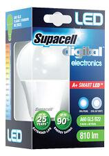 12 X SUPACELL LED DIGITAL A60 GLS CLASSIC/STANDARD B22, E27 5W = 40W
