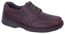 Walking comfort shoes men's leather lace up Slatters Axel