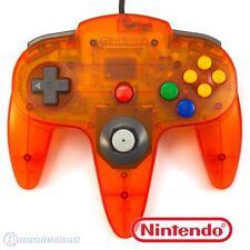 Original Nintendo n64 controlador/gamepad #fire naranja-estado Seleccionable