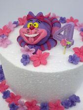 Cheshire cat,Alice in wonderland,Edible,Handmade,Birthday ,Cake Toppers