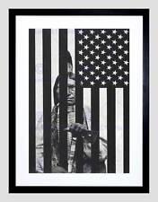PROPAGANDA POLITICAL WOUNDED KNEE NATIVE AMERICAN MASSACRE PRINT BB2694B