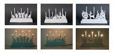 Decorazione natalizia METALLO ARCO DI LUCI leuchtbogen Candelabro Avvento