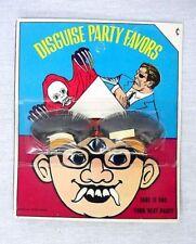 1960's Vintage Halloween Disguise Eyelashes Nick Fury ?