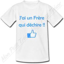 T-shirt Enfant J'ai un Frère qui déchire !!