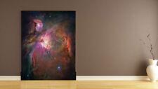 3D Rouge Nébuleuse..Photo Papier Peint en Autocollant Murale Plafond Chambre Art