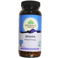Organic India Brahmi 250 500 750 Capsules Bottle