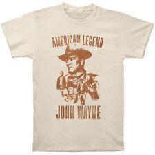 John Wayne Men's  John Wayne Slim Fit T-shirt Natural