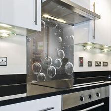 Splashback Paraschizzi Paraspruzzi Rivestimento Cucina goccie acqua grigio