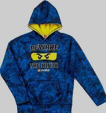 Lego Ninjago Beware The Ninja Pullover Hoodie 8 Medium New   sweatshirt