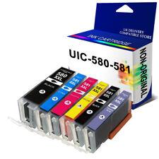 SET PGI 580  Canon Ink for Pixma TS8150 TS8151 TS8251 TS8252 TS9150 TS9155 LOT