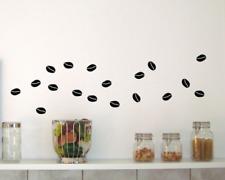 Wandtattoo Kaffeebohnen Kaffee Küche 25 Farben 6 Größen Wandaufkleber Sticker