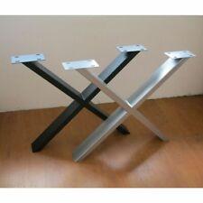 Tischgestelle Tischbeine Metallgestelle X-Form versch. Farben NEU/OVP