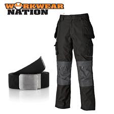 Dickies Vêtements De Travail Eisenhower Max Genou Poche Pantalon Noir