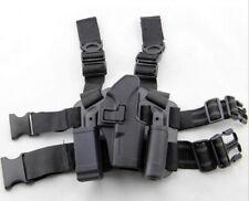Glock 17 Pistol Gun Holster Tactical 4 In 1 Leg Thigh Holder Adjustable Belt RH