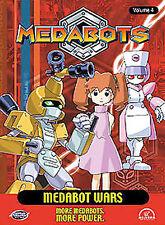 Medabots Vol. 4: Medabot Wars (Anime DVD, 2002) Rare, Out Of Print