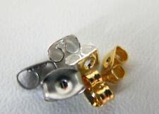 Butterfly scroll spare stud earring backs medium