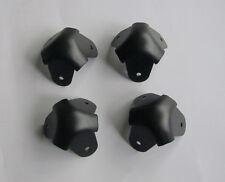 4x Metal 3 Leg Guitar AMP Amplifier Corner Speaker Cabinet Corners Black