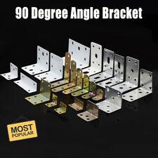 Galvanised Corner Brace 90 Degree Angle Bracket Joist Timber Mending Plates UK