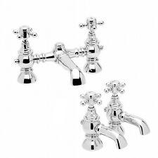 Tradizionale bagno Filler Rubinetto + Caldo & Freddo TWIN bacino rubinetto Pack Belgravia