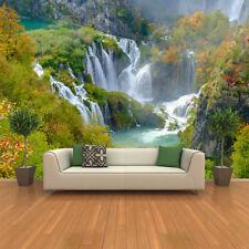 Waterfall Piltvic Lakes, Croatia Landscape Wall Mural Water Photo Wallpaper