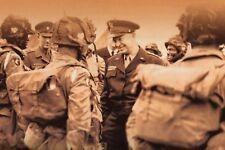 WW2 - England 44 - Eisenhower avec Paras de la 101ème