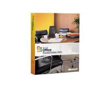 Microsoft Office 2003 Standard  -  deutsche Retail, für 2x install