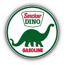 Sinclair gasolina Retro Automóvil Pegatinas x2 diámetro 60mm