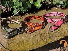 Biothane Camo Halsband Halsung Sport 25mm, stufenlos verstellbar, 4 Farben