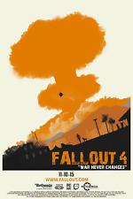 Fallout 4 - War Never Changes Poster T127  A4 A3 A2 A1 A0 
