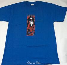 NWT!  Mens Spiderman Blue Marvel Licensed Threadless Adult T-shirt M-XL