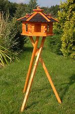 Vogelhaus XXL oder Standard, wahlweise mit Ständer und Solarbeleuchtung V16