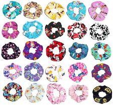 Disney Hair Scrunchie Scrunchies by Sherry Hair Ties Ponytail Holders New