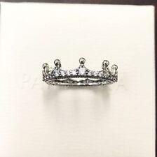 Pandora Enchanted Crown Ring #197087CZ ~FREE HINGED BOX+POLISH CLOTH~Choose Size