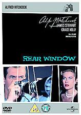 Rear Window DVD  James Stewart