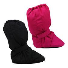Kids Girls Boys Warm Winter Ankle Snow Boots Waterproof Windproof Pink Black
