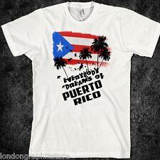 Puerto Rico T-Shirt, Boricua, Taino, San Juan, Puerto Rican Flag S-2XL Tank Top