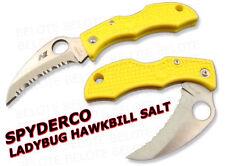 Spyderco LadyBug 3 Hawkbill Salt H1 Serrated LYLS3HB
