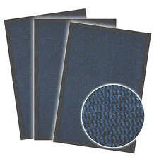 Schmutzfangmatte Fußmatte Eingangsmatte Sauberlaufmatte Blau / Schwarz