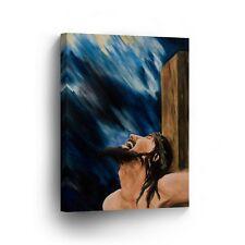 Modern Oil Painting on Canvas Print Wall Decor Art Framed %100 Handmade OPV20