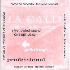 Galli Classic la Galli lg50-Normal Tension-corde in nylon per chitarra concerto