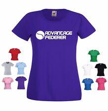 """ventaja Federer 'Roger Federer Tenis/Wimbledon Divertido Damas Camiseta"