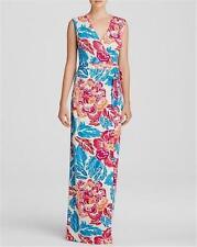 DVF Diane Von Furstenberg NEW YAHZI TWO Silk Wrap Long Maxi Dress Floral $578