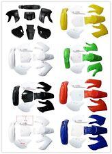 Motorcycle Dirt Bike Body Plastic Fender For SSR Coolster BBR Various Colors