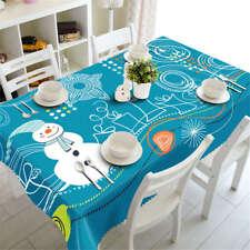 Children Cartoon 3D Tablecloth Table cover Cloth Rectangle Wedding Party Banquet